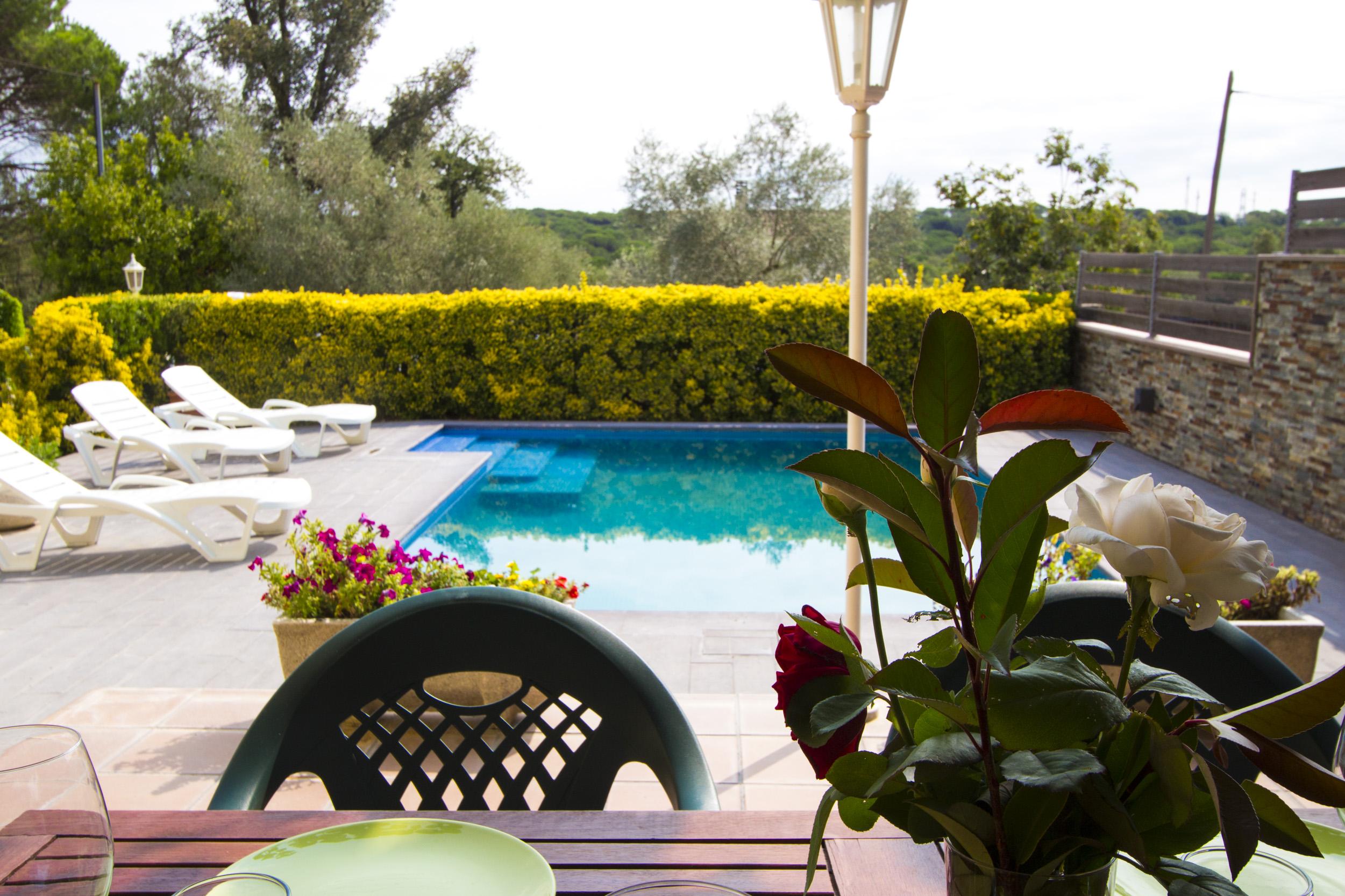 Ferienhaus Catalunya Casas: Peaceful Villa Sils, just 20 km from Costa Brava beaches! (2302155), Les Mallorquines, Girona, Katalonien, Spanien, Bild 24