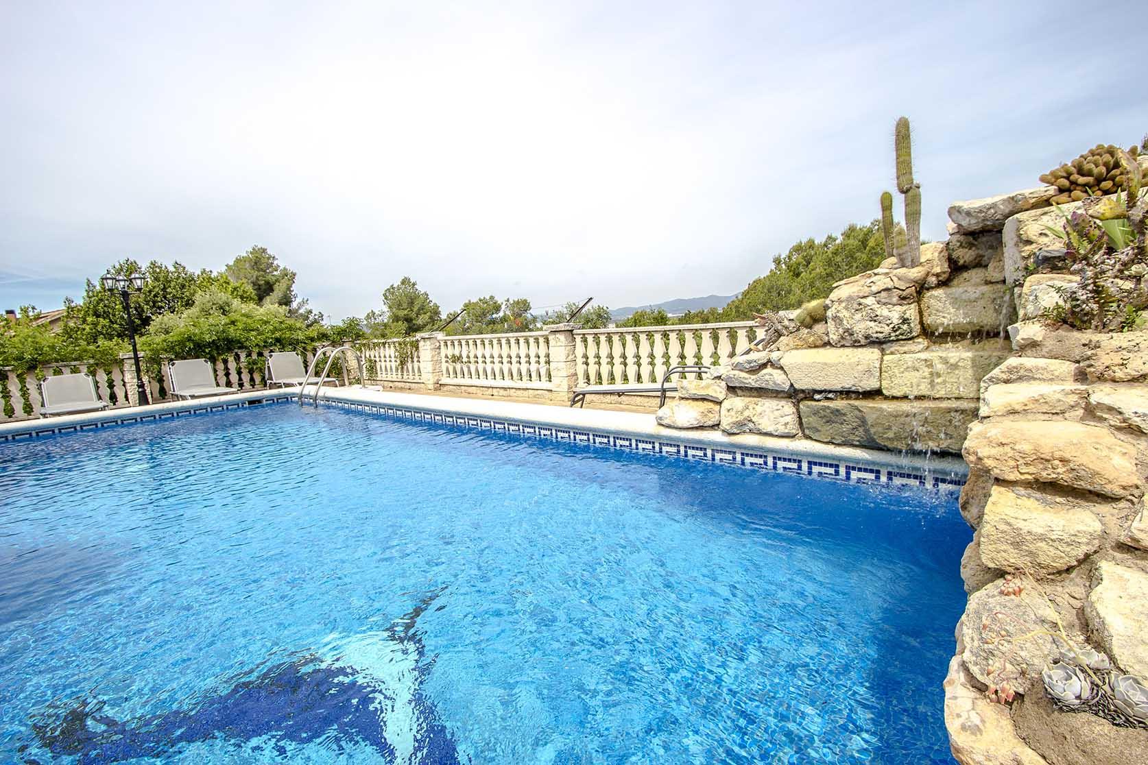 Ferienhaus Catalunya Casas: Lovely villa in Castellet, only 10 min to Costa Dorada beaches! (1890850), Castellet i la Gornal, Costa del Garraf, Katalonien, Spanien, Bild 7