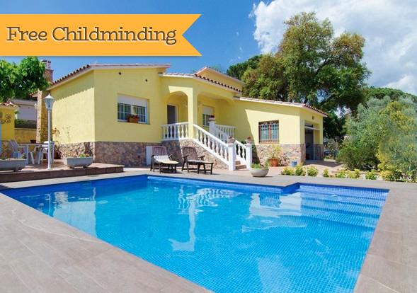 Ferienhaus Catalunya Casas: Peaceful Villa Sils, just 20 km from Costa Brava beaches! (2302155), Les Mallorquines, Girona, Katalonien, Spanien, Bild 1