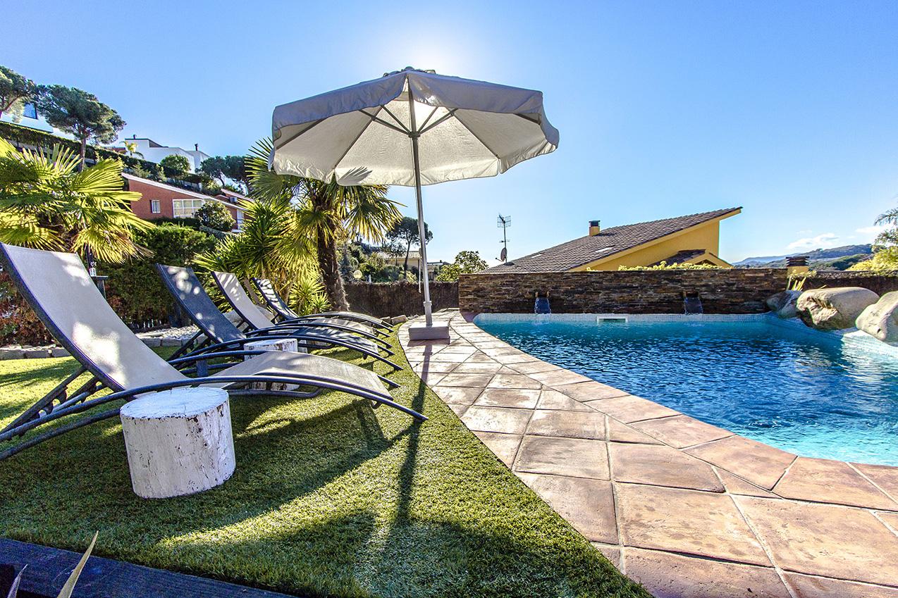 Ferienhaus Picturesque Seaside 3 bedroom villa in Caldes Estrach,with private pool! (1890834), Caldes d'Estrac, Costa del Meresme, Katalonien, Spanien, Bild 3