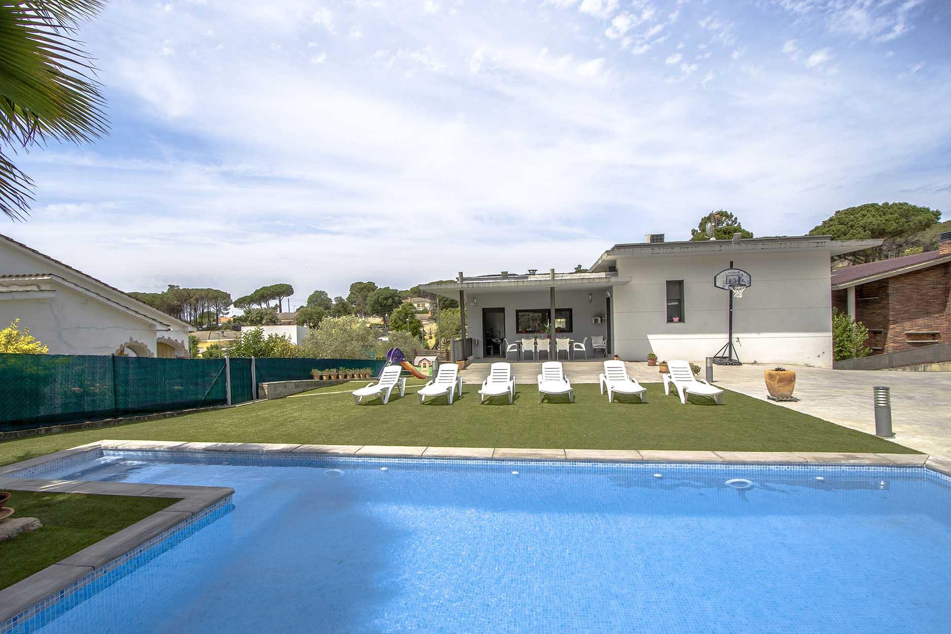 Ferienhaus Catalunya Casas: Modern villa in Sils, 15 min drive to Costa Brava beaches! (1902227), Les Mallorquines, Girona, Katalonien, Spanien, Bild 3