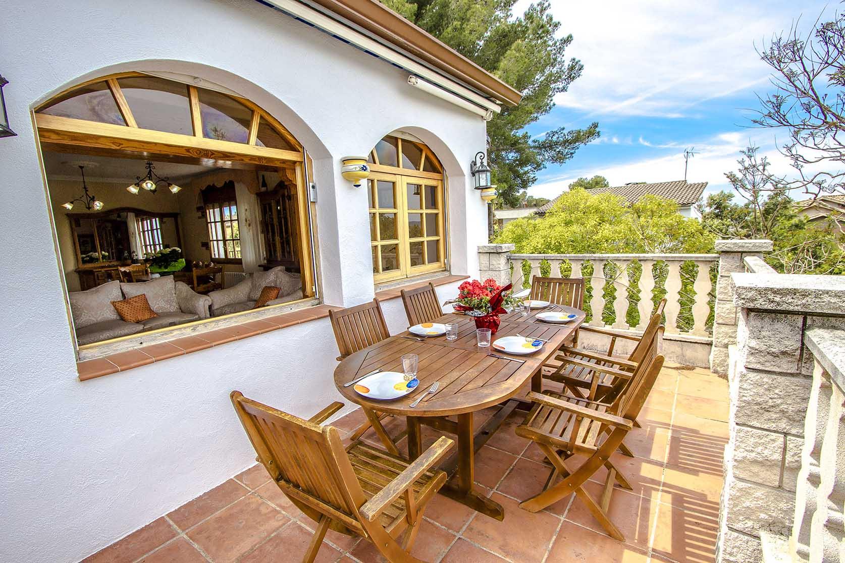 Ferienhaus Catalunya Casas: Lovely villa in Castellet, only 10 min to Costa Dorada beaches! (1890850), Castellet i la Gornal, Costa del Garraf, Katalonien, Spanien, Bild 8