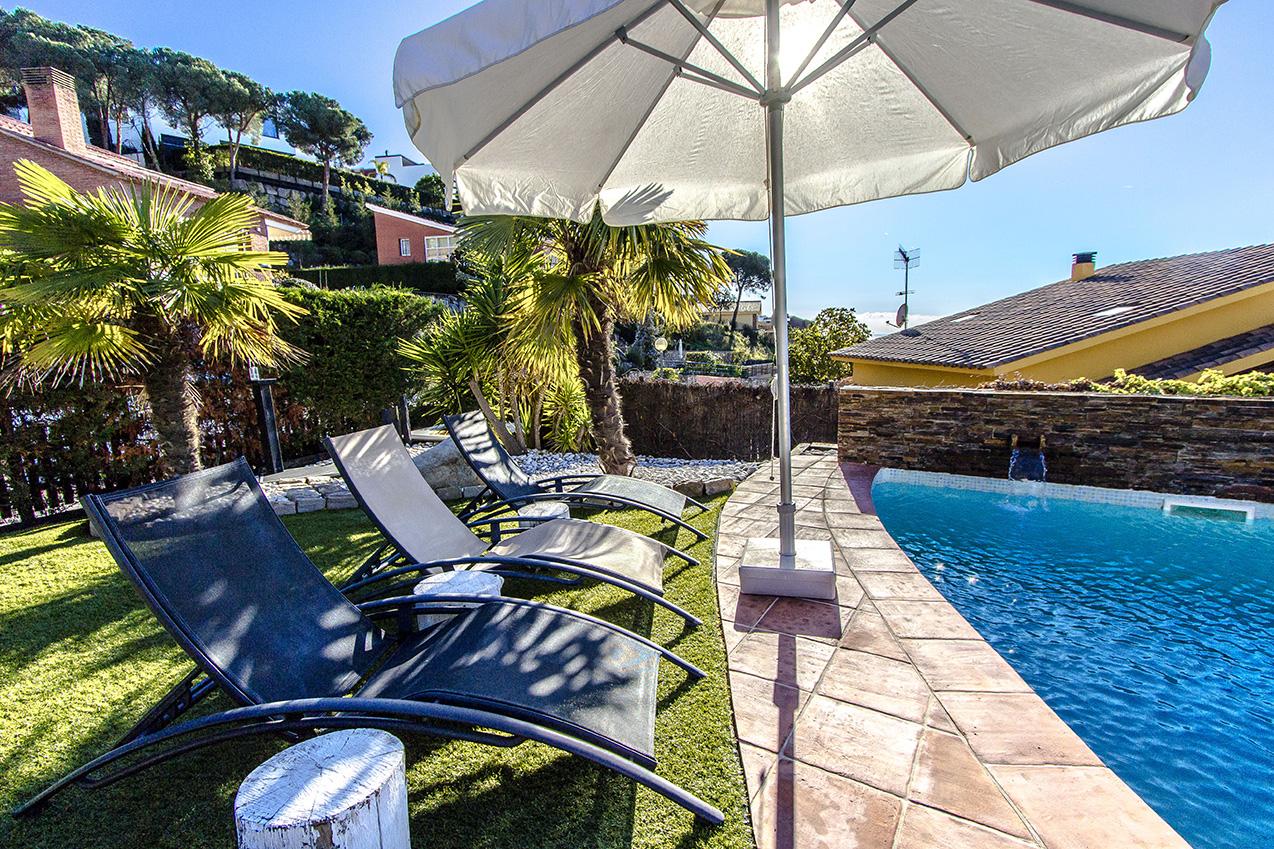 Ferienhaus Picturesque Seaside 3 bedroom villa in Caldes Estrach,with private pool! (1890834), Caldes d'Estrac, Costa del Meresme, Katalonien, Spanien, Bild 8