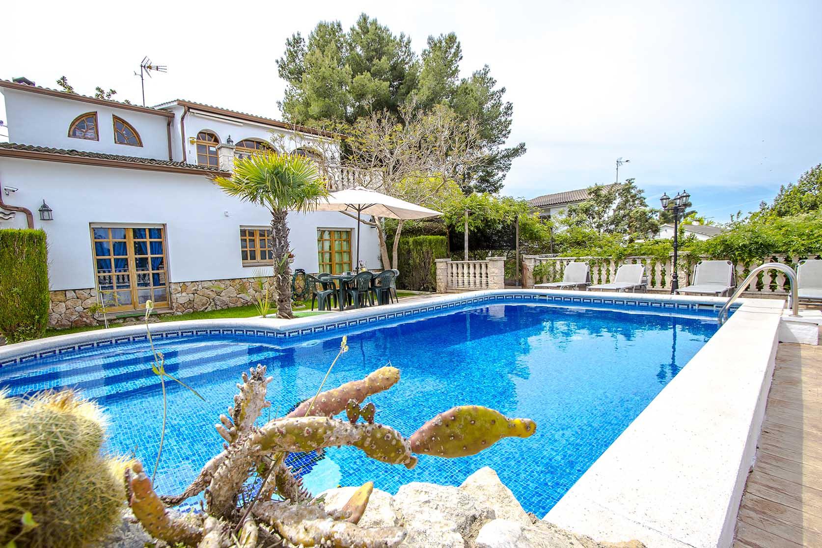 Ferienhaus Catalunya Casas: Lovely villa in Castellet, only 10 min to Costa Dorada beaches! (1890850), Castellet i la Gornal, Costa del Garraf, Katalonien, Spanien, Bild 2