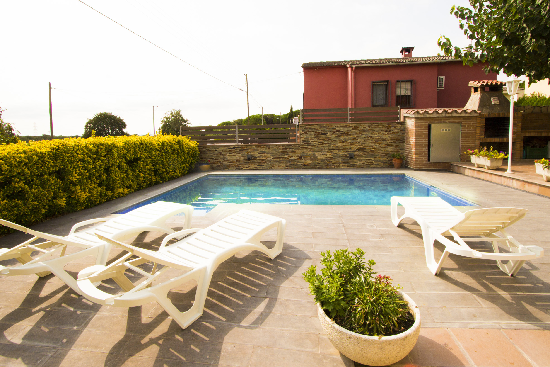Ferienhaus Catalunya Casas: Peaceful Villa Sils, just 20 km from Costa Brava beaches! (2302155), Les Mallorquines, Girona, Katalonien, Spanien, Bild 3