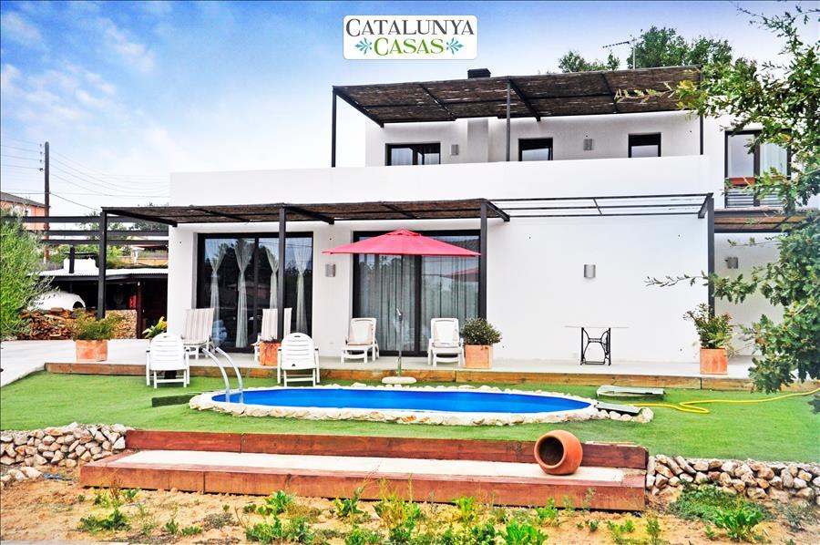 Ferienhaus Catalunya Casas: Serene villa in Sils, 20 km to Costa Brava beaches! (1890922), Les Mallorquines, Girona, Katalonien, Spanien, Bild 2