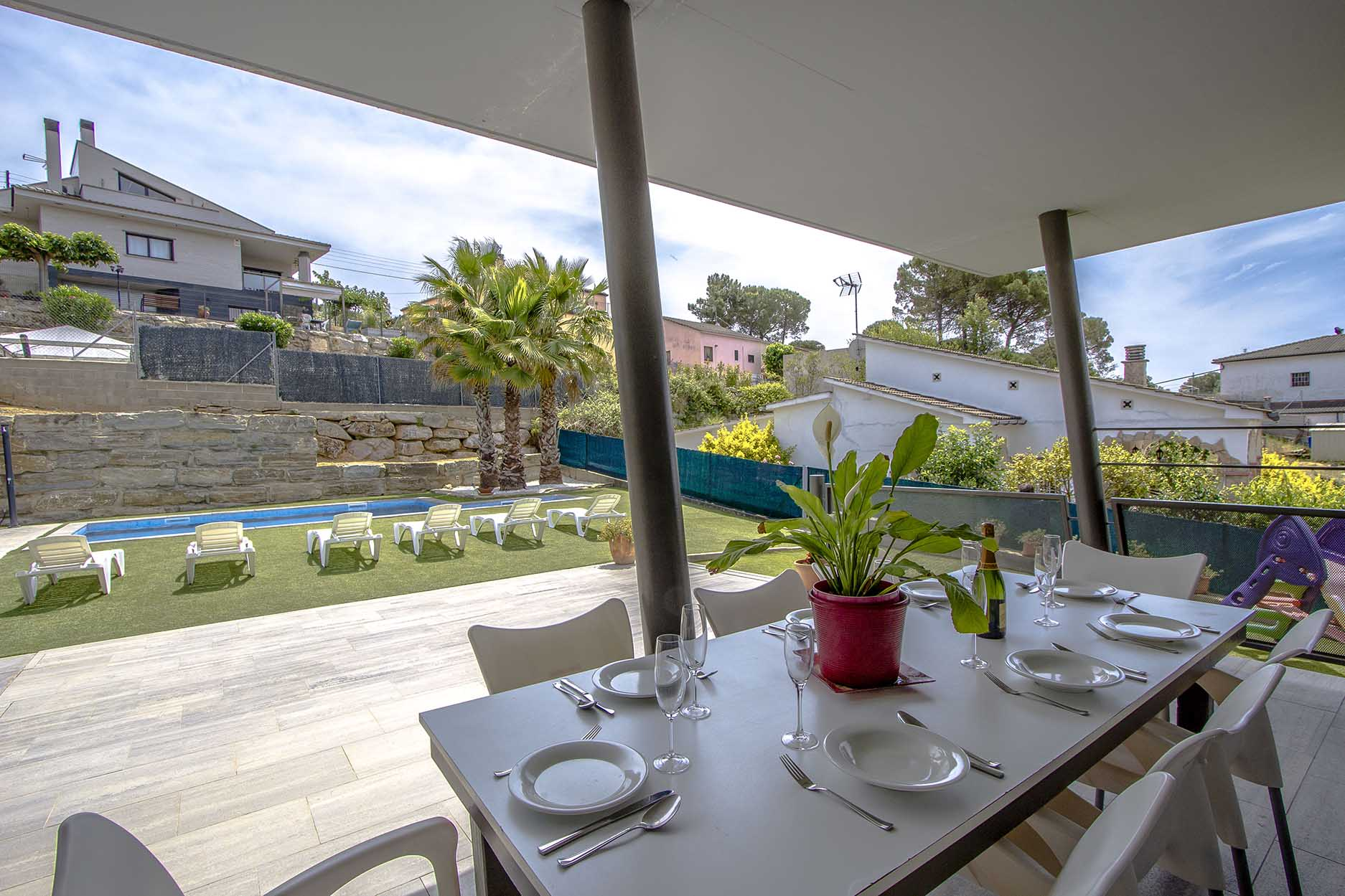 Ferienhaus Catalunya Casas: Modern villa in Sils, 15 min drive to Costa Brava beaches! (1902227), Les Mallorquines, Girona, Katalonien, Spanien, Bild 9