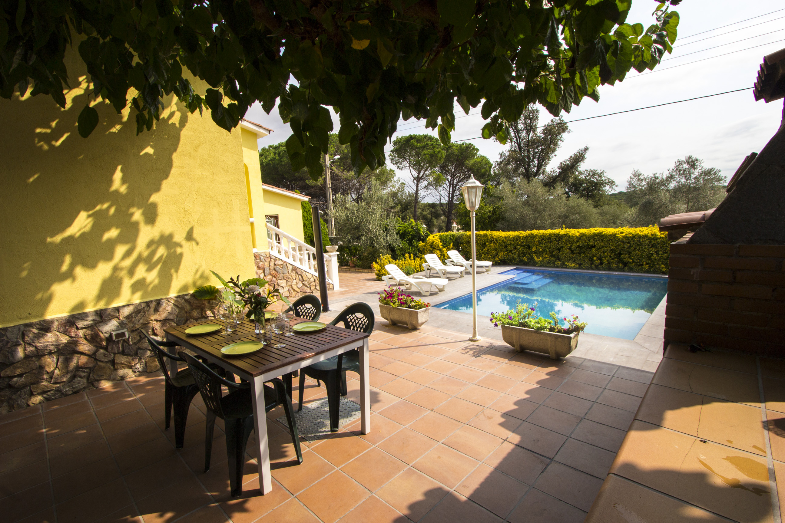 Ferienhaus Catalunya Casas: Peaceful Villa Sils, just 20 km from Costa Brava beaches! (2302155), Les Mallorquines, Girona, Katalonien, Spanien, Bild 5
