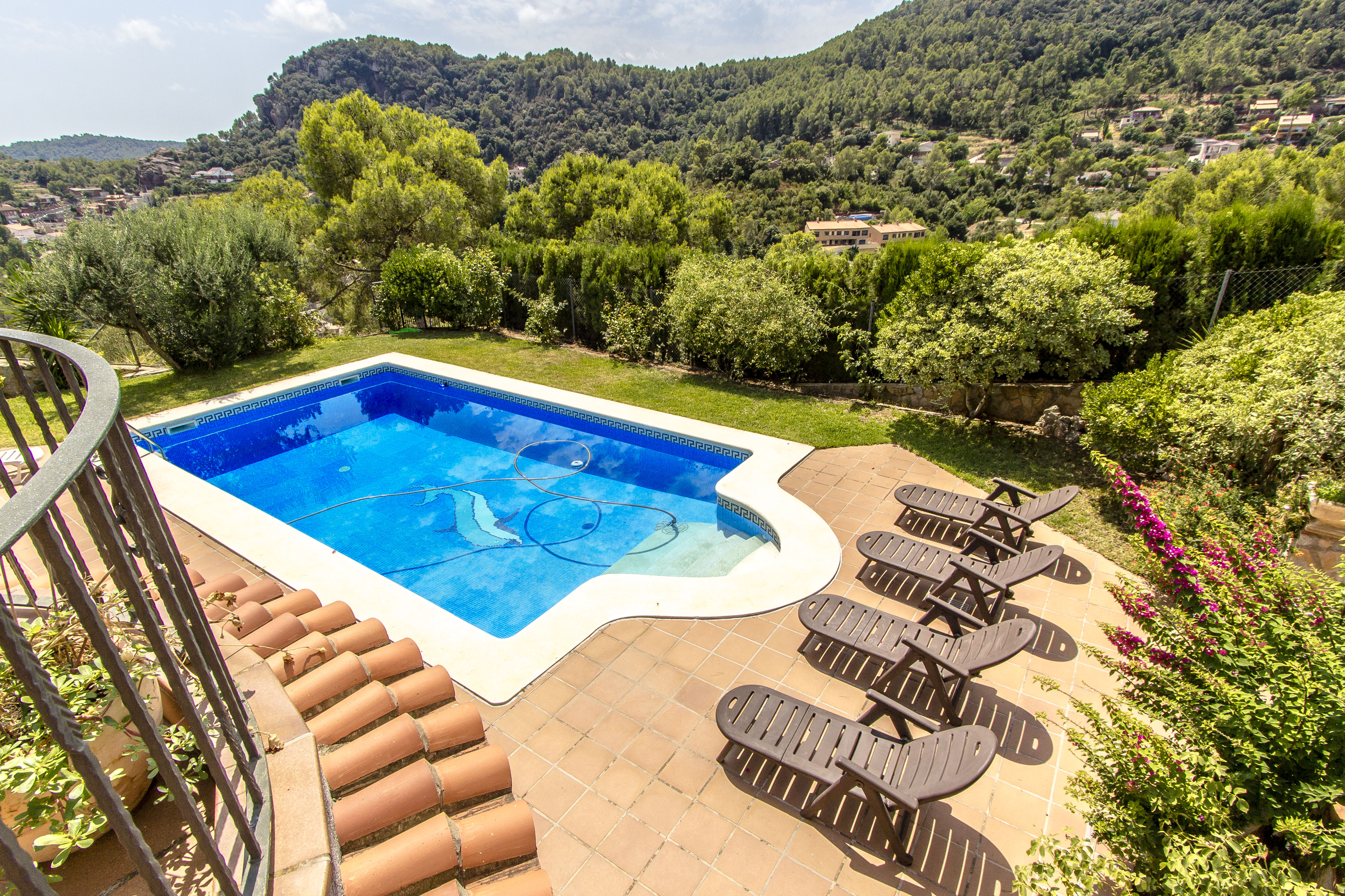 Ferienhaus Catalunya Casas: Fantastic villa in Torrelles, just 15 km from Barcelona! (1890843), Can Guey, Costa del Garraf, Katalonien, Spanien, Bild 3
