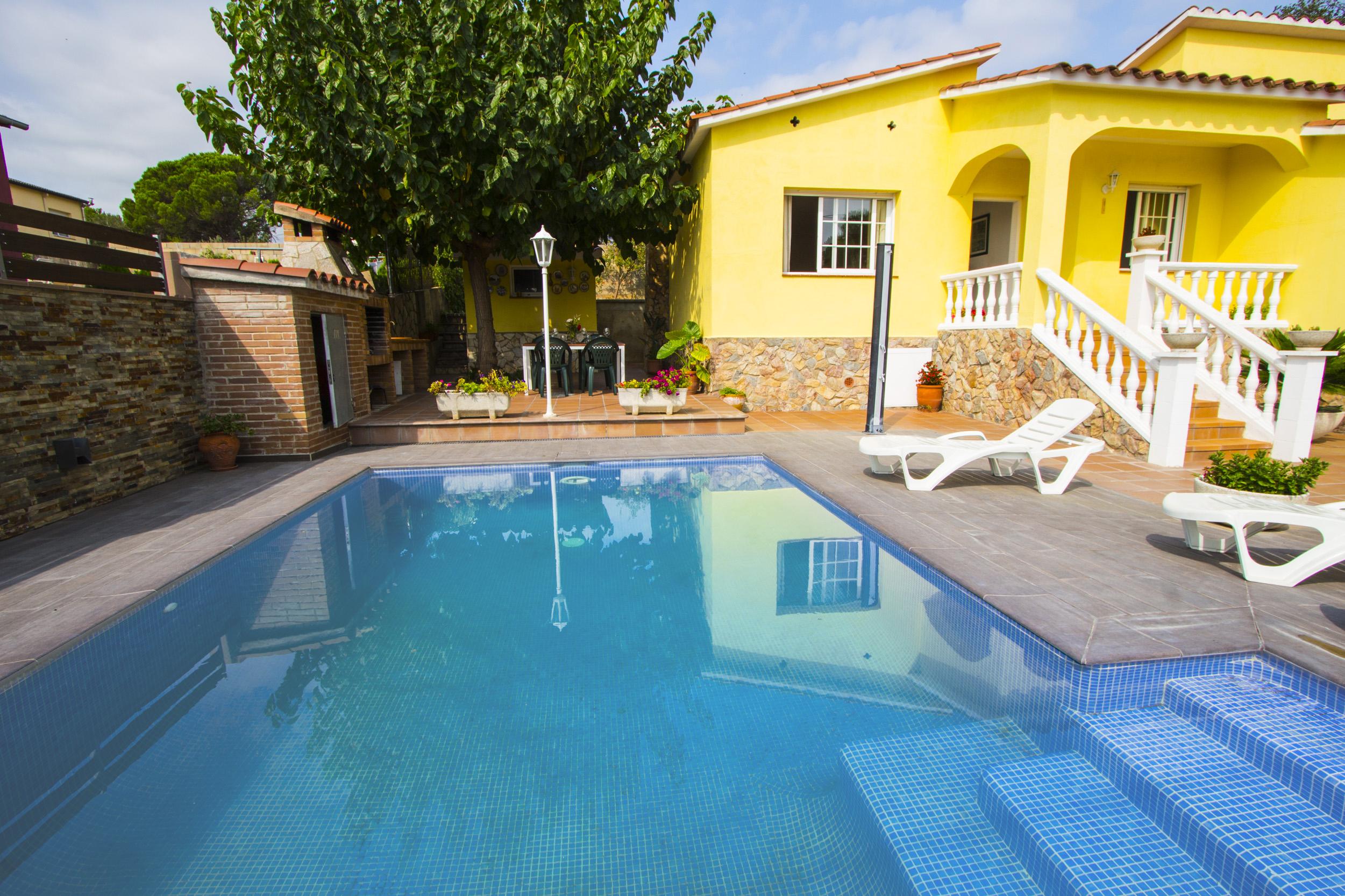 Ferienhaus Catalunya Casas: Peaceful Villa Sils, just 20 km from Costa Brava beaches! (2302155), Les Mallorquines, Girona, Katalonien, Spanien, Bild 2