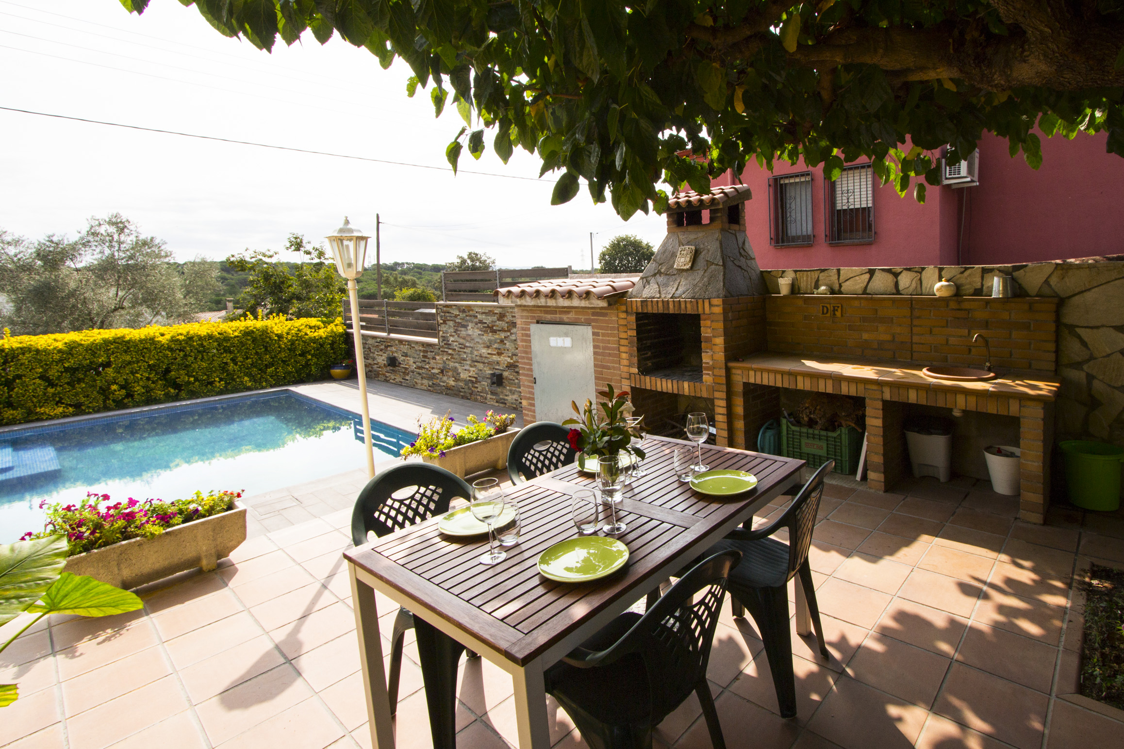Ferienhaus Catalunya Casas: Peaceful Villa Sils, just 20 km from Costa Brava beaches! (2302155), Les Mallorquines, Girona, Katalonien, Spanien, Bild 7