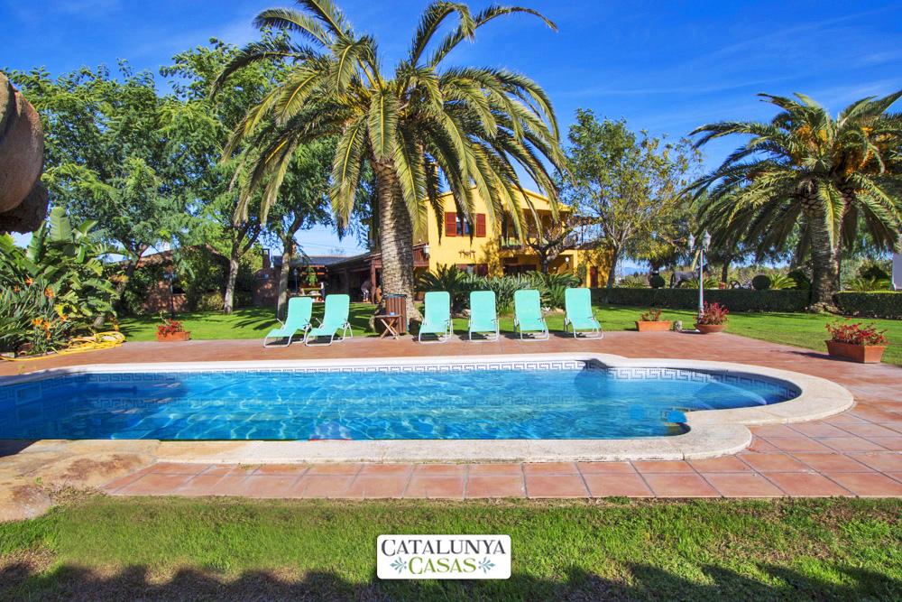 Ferienhaus Catalunya Casas:  Incredible villa in La Selva, 11 km from the beach! (1890848), La Selva del Camp, Tarragona, Katalonien, Spanien, Bild 1