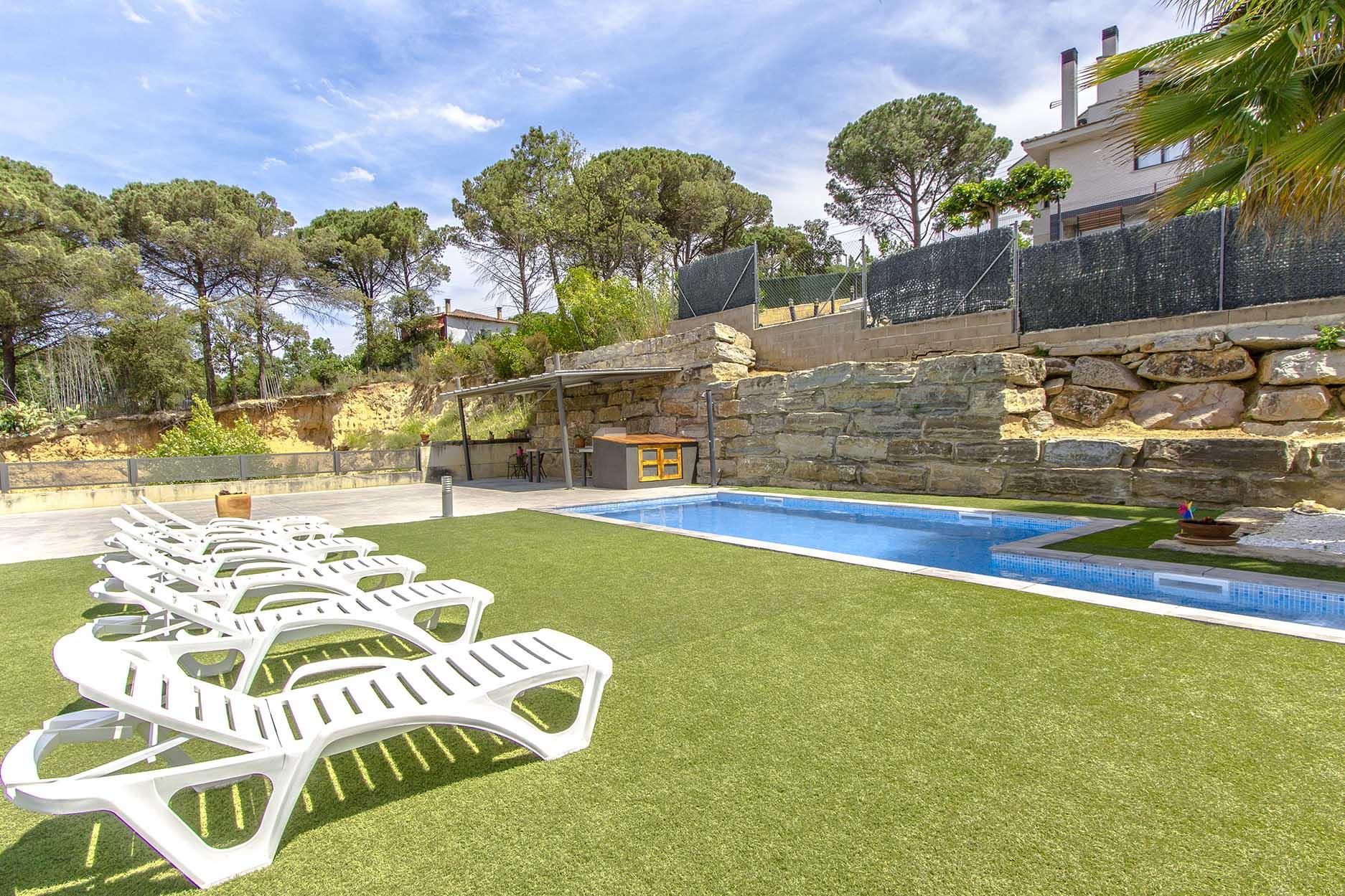 Ferienhaus Catalunya Casas: Modern villa in Sils, 15 min drive to Costa Brava beaches! (1902227), Les Mallorquines, Girona, Katalonien, Spanien, Bild 7