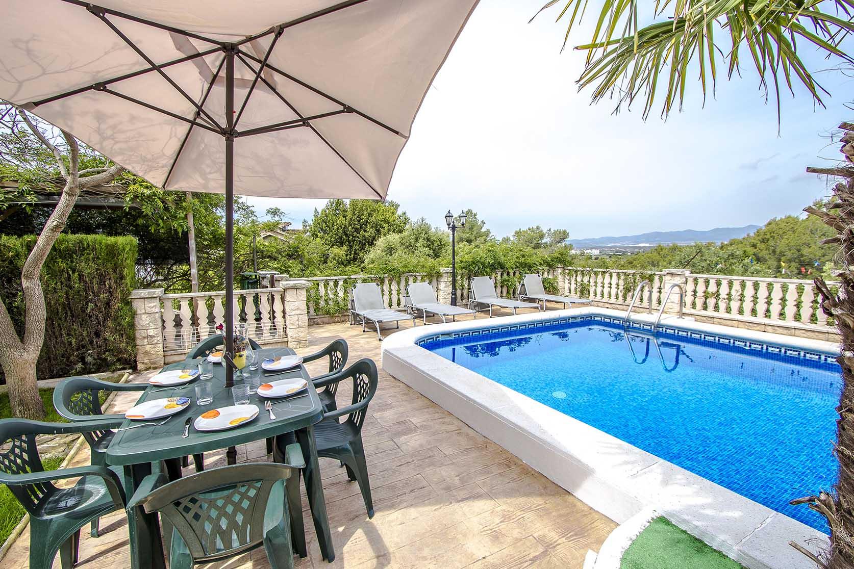 Ferienhaus Catalunya Casas: Lovely villa in Castellet, only 10 min to Costa Dorada beaches! (1890850), Castellet i la Gornal, Costa del Garraf, Katalonien, Spanien, Bild 5