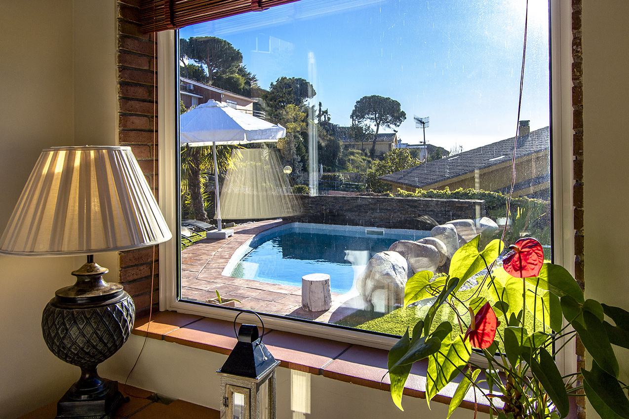 Ferienhaus Picturesque Seaside 3 bedroom villa in Caldes Estrach,with private pool! (1890834), Caldes d'Estrac, Costa del Meresme, Katalonien, Spanien, Bild 35